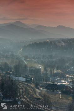 Zakopane, Poland. Tatra Mountains, Paranormal Romance, Zakopane Poland, Clouds, Photo And Video, Backyards, City, World, Places