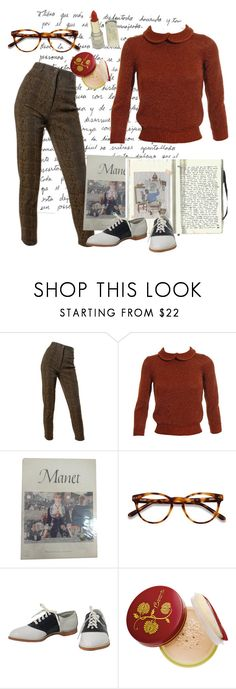 """''Tis the season"" by abbykrysta ❤ liked on Polyvore featuring Emanuel Ungaro, Jil Sander, EyeBuyDirect.com and Bésame"