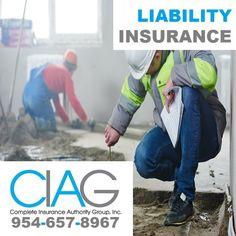 (954) 657-8967 General Liability Insurance in Weston FL: Get Insured by CIAG. http://insurancepompano.com/insurance-weston/  #generalliabilityinsuranceWestonFL