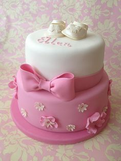 Ellen's Christening Cake by Cotswolds Finest Cakes, via Flickr