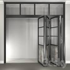 Jada Windows steel folding door set with zero transition sill ...