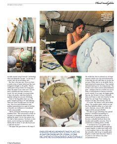 Bellerby & Co Globemakers, London. Handcrafted modern terrestrial and celestial globes. www.bellerbyandco.com