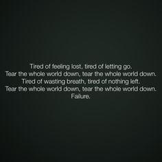 Breaking Benjamin  Failure  Love new lyrics ❤️