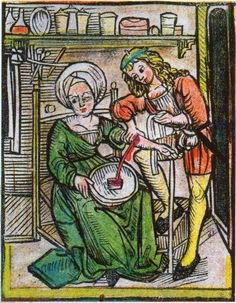 """Bloodletting was common in medicine until the late 19th century, and it was believed that eliminating """"bad blood"""" cured many diseases. Description from pinterest.com. I searched for this on bing.com/images"""