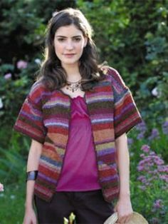 Red Earth Cardigan ~ Free Knitting Pattern