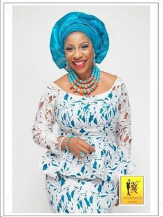 NHN Couture-Covered yet sexy, fabulous and simply classy is her motto! Love it & the color. African Lace Styles, African Lace Dresses, African Dresses For Women, African Attire, African Wear, African Fashion Dresses, African Women, Nigerian Fashion, Ghanaian Fashion