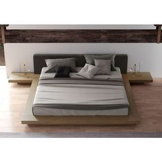 Arata Platform Inspired by the Japanese designs themes of simplicity and harmony, our Arata Japanese platform bed is a great way to bring a touch of Asian style elegance into your bedroom.