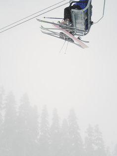 Way up high in the lift- follow us www.helmetbandits.com like it, love it, pin it, share it!
