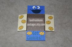Hey, I found this really awesome Etsy listing at https://www.etsy.com/listing/230296330/cookie-monster-care-package-flaps
