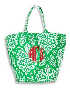 Alpha Gamma Delta Canvas Bucket Bag. www.sassysorority.com  #AGD