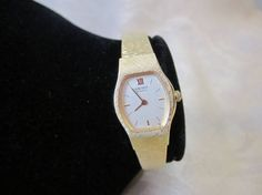 Gold Watch XII SEIKO Quartz Lady's Watch  Gold Toned 6.2 Dia wrist band Battery 1980s by LAmourDAntique Newly listed Vintage Fashion