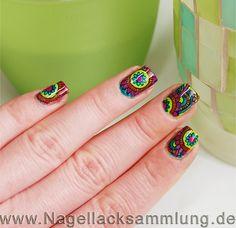 Mandala Nailart   #bornpretty #nailart #nageldesign #stamping #mandala