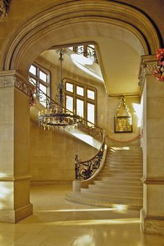 A beautiful view of the Grand Staircase inside Biltmore House. Pin your style for a chance to win!