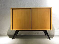 Schweizer Eschenholz & Buche Sideboard von Genossenschaft Hobel, 1955 1