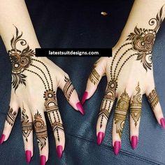 Latest Mehndi Designs Ideas For Teenagers 2018 Mehndi Designs For Kids, Simple Arabic Mehndi Designs, Finger Henna Designs, Latest Bridal Mehndi Designs, Modern Mehndi Designs, Mehndi Designs For Fingers, Mehndi Design Images, Fingers Design, Mehandi Designs