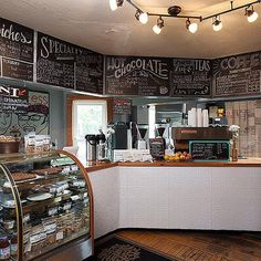 99 Awesome Small Coffee Shop Interior Design (4)