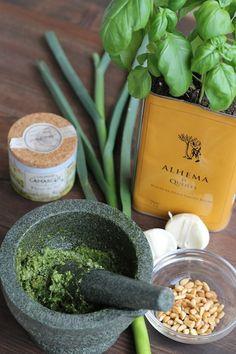 Vegan Basil Pesto Recipe