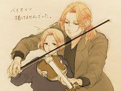 I feel like Matthew can play the violin really well Fruk Hetalia, Hetalia France, Hetalia Headcanons, Hetalia Fanart, Hetalia Axis Powers, Usuk, History Jokes, Kirito, Manga