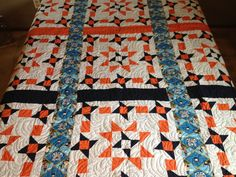Finished Coast Guard Star Quilt