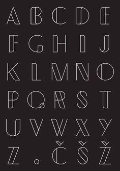 Typometry geometrical free font, display font type, line art font abc alpha Bullet Journal Banner, Bullet Journal Lettering Ideas, Journal Fonts, Bullet Journal Writing, Bullet Journal Ideas Pages, Creative Lettering, Lettering Styles, Brush Lettering, Simple Lettering
