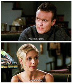 When she let Giles know it always came down to her.