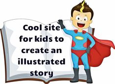 A charming site for children to create their own illustrated story.