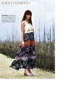 Patterns - Odd Molly boho dress with embroideries in Femina Denmark May 2008
