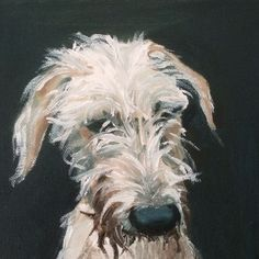 Lurcher by Julie Brunn -sold