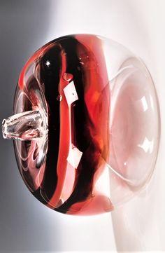 Lubomír Blecha (Czech, born 1933) Title: Apfel , 1962 Medium: glass Artist At Work, Czech Glass, Medium, Apple, Medium Long Hairstyles