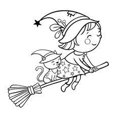 Malvorlagen Archives - Page 605 of 637 - Pins Dulceros Halloween, Moldes Halloween, Bricolage Halloween, Manualidades Halloween, Halloween Coloring Pictures, Halloween Coloring Pages, Halloween Pictures To Color, Witch Coloring Pages, Coloring Books