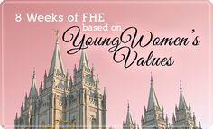 Personal progression isn't just for young women--we could all use a dose of faith, knowledge, and virtue. To help your family develop these qualities and more, use these 8 complete FHE lessons inspired by the Young Women's values from Faith to Integrity. Young Women Values, Young Women Lessons, Young Women Activities, Lds, Family Home Evening Lessons, Fhe Lessons, Personal Progress, Church Activities, Scripture Study