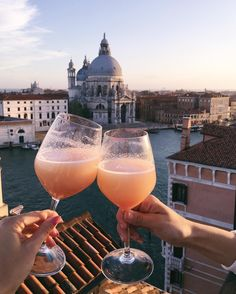 Sunset bellinis & a rooftop terrace overlooking Venice.