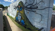 Jeff Soto - Love is Sacrifice- Rochester Soto and Maxx242's mural collaboration for Wall Therapy in Rochester NY, 2015.