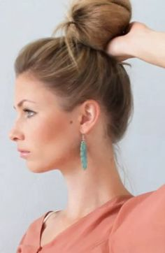 Feather, Bling, Hairstyles, Drop Earrings, Ideas, Fashion, Haircuts, Moda, Quill