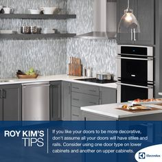 #Minimalism with cabinets and accents. #decor #design #tip — ELECTROLUX