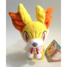Pokemon Center 2012 Christmas Fennekin Plush Toy