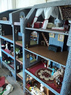 some castle updates..inspirations for AG doll houses