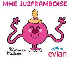 S'hydrater c'est fun avec Evian et Monsieur Madame | Ju2Framboise.com