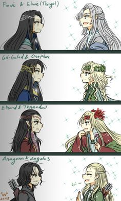 of dark-hairs totally done with the sparkling blondes. also thranduil has wine ahahahagenerations of dark-hairs totally done with the sparkling blondes. also thranduil has wine ahahaha Lotr Elves, Mirkwood Elves, Legolas And Aragorn, Das Silmarillion, O Hobbit, J. R. R. Tolkien, Elvish, The Elf, Lord Of The Rings