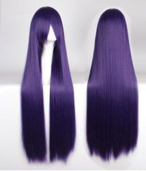 100CM Extra Long Attractive Side Bang Silky Straight Purple Anime Cosplay Wig For Fashion Lovers   Join Sammydress: Get YOUR $50 NOW!