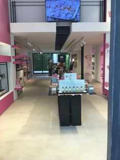 lucy pink stores  #lucypink #athens #cosmetics #bodycare #facecare Face Care, Body Care, Athens, Cosmetics, Store, Pink, Facials, Facial Care, Larger