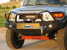 Expedition One Trail Series WyoOtto Style Front Bumper [FJCFB100_WY] - $1,329.99 : Pure FJ Cruiser Accessories, Parts and Accessories for your Toyota FJ Cruiser