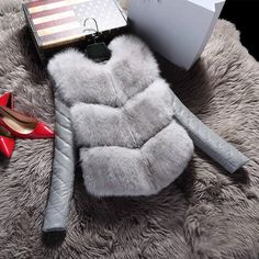 Купить товарНовый 2016 Мода Осень Зима Пальто Теплое Женщин Искусственного Фокс Меховой Жилет Высокого Класса Куртки Colete Feminino Плюс Размер 3XL в категории  на AliExpress.           2016 Winter Fall Women Fur Vest Long Plus Size Waistcoat Casaco De Pele NaturalUSD 42.00/pieceNew 2016 Winter