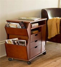 Main image for Rolling Storage Cart With Drawers