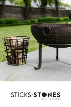 Original Indian Fire bowls, individually unique pieces. Our Vintage Kadai Bowl – Including Low Stand is perfect to complete your firepit and BBQ cooking utensils for an impressive outdoor feast. It comes in a variety of sizes. At Sticks + Stones Outdoor, we travel the globe to source the most stunning, affordable, practical and stylish items to help you create your own beautiful outdoor space. #outdooraccessories #firepits #BBQ #outdoorcooking Bbq Cooking Utensils, Fire Bowls, Sticks And Stones, Outdoor Cooking, Fire Pits, Grilling, Outdoor Spaces, Globe, Campfires