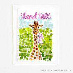 the most adorable cards to send your besties!  evelynhenson.com