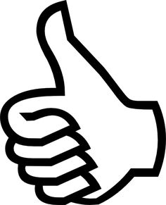 thumbs up clipart - Google Search