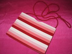 Vintage 60s 70s IPES Lucite Leather Pink Multi Clutch Purse Shoulder Bag Italy  #Ipes #Clutch #Everyday