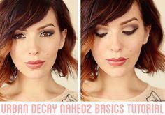 Makeup Monday: Urban Decay Naked2 Basics Tutorial - Keiko Lynn