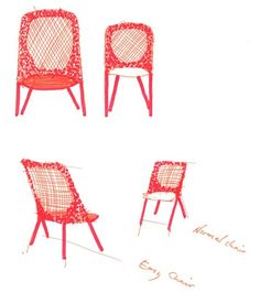 Moooi klapstoel Shift Dining Chair door Jonas Forsman | Designlinq